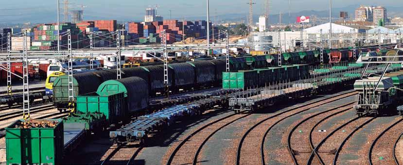Mercancias Ferroviarias en Espana