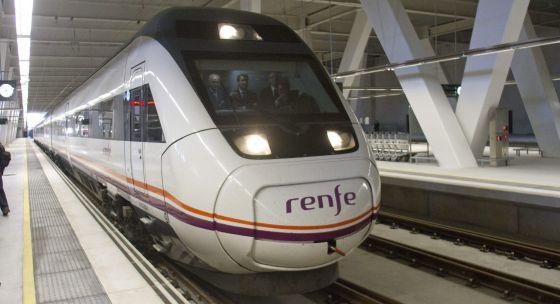 Tren AVE en Vigo