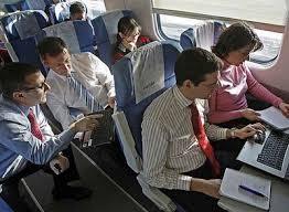 Wifi en el tren