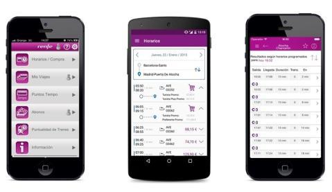 Renfe Potencia Su App Móvil Renfe Ticket Tras Alcanzar 800.000 Descargas