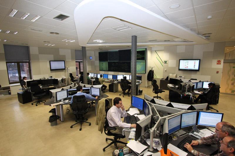 Sala de control del CGRH24