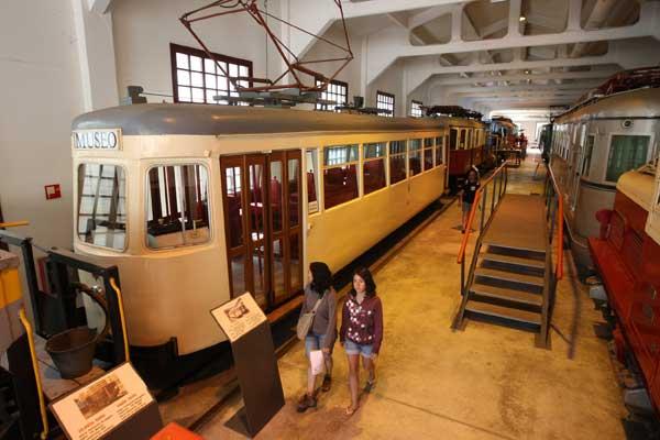 Museo Ferroviario Azpeitia - Colección