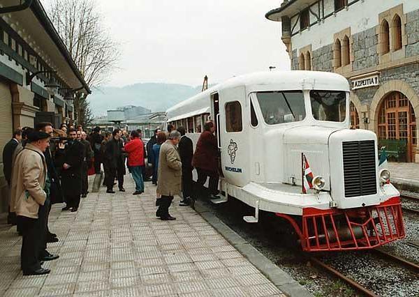 Museo Ferroviario Azpeitia - La Micheline