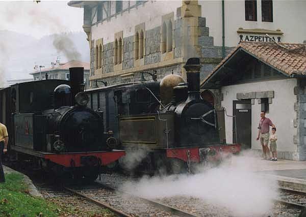 Museo Ferroviario Azpeitia - Máquinas Zugastieta y Guipúzcoa
