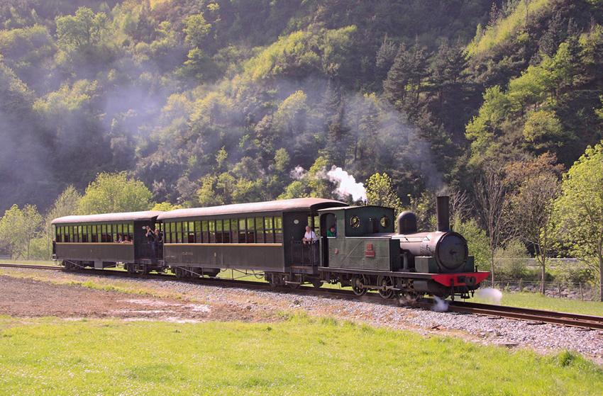 Museo Ferroviario Azpeitia - Tren de vapor