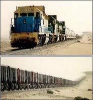 Tren de mineral en Mauritania_01