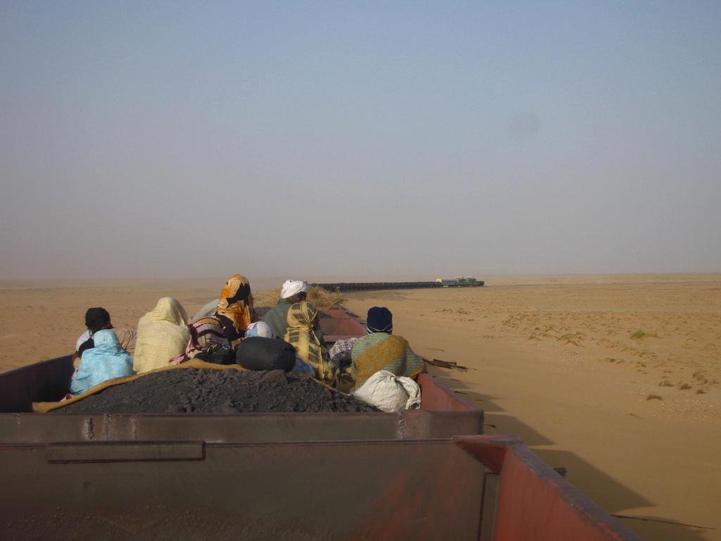 Tren de mineral en Mauritania_05