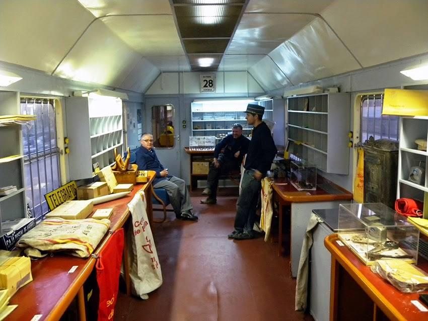 Historia del tren correo for Oficina internacional de destino correos