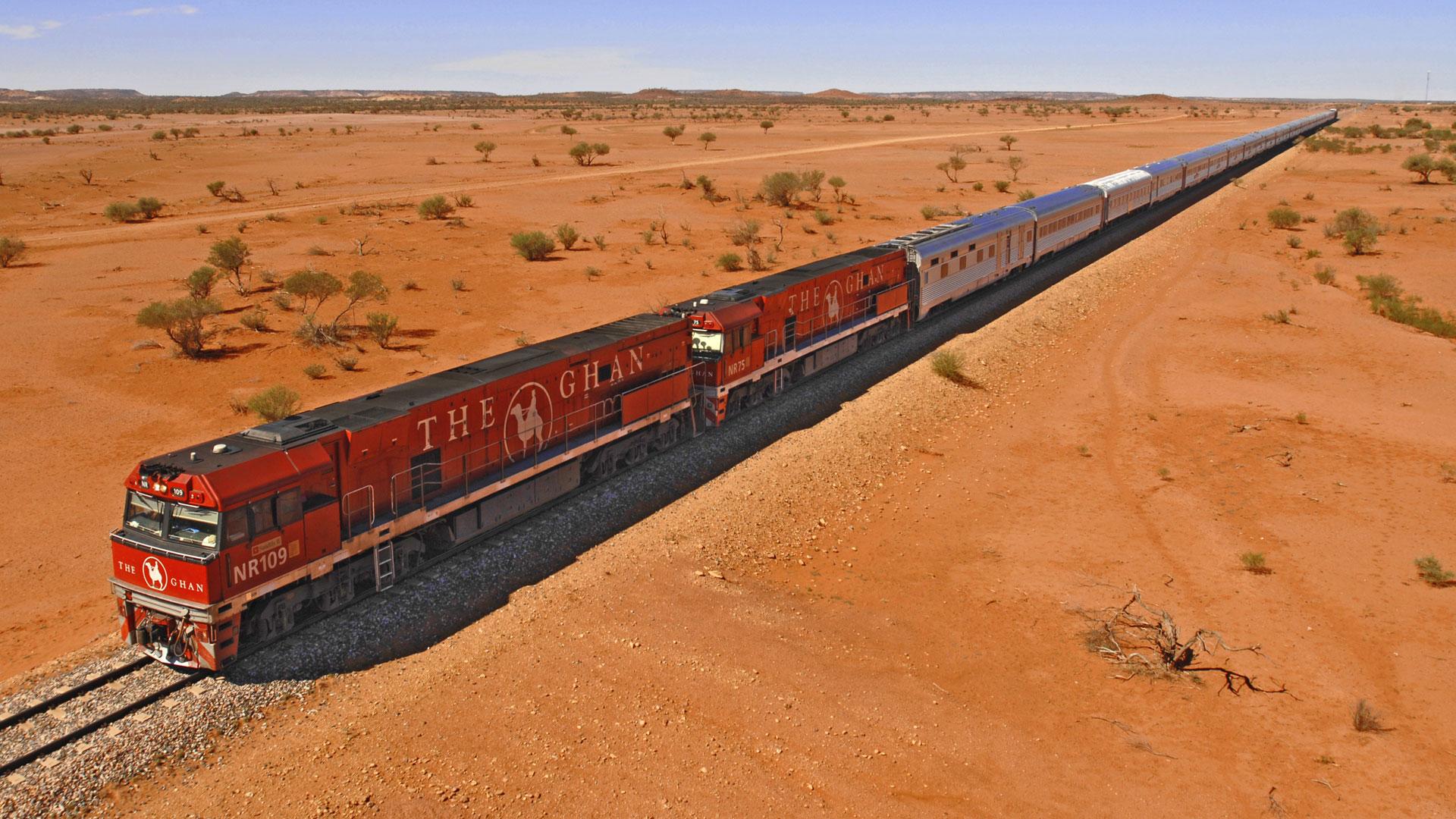 Los 10 viajes mas espectaculares_04 The Ghan, Australia