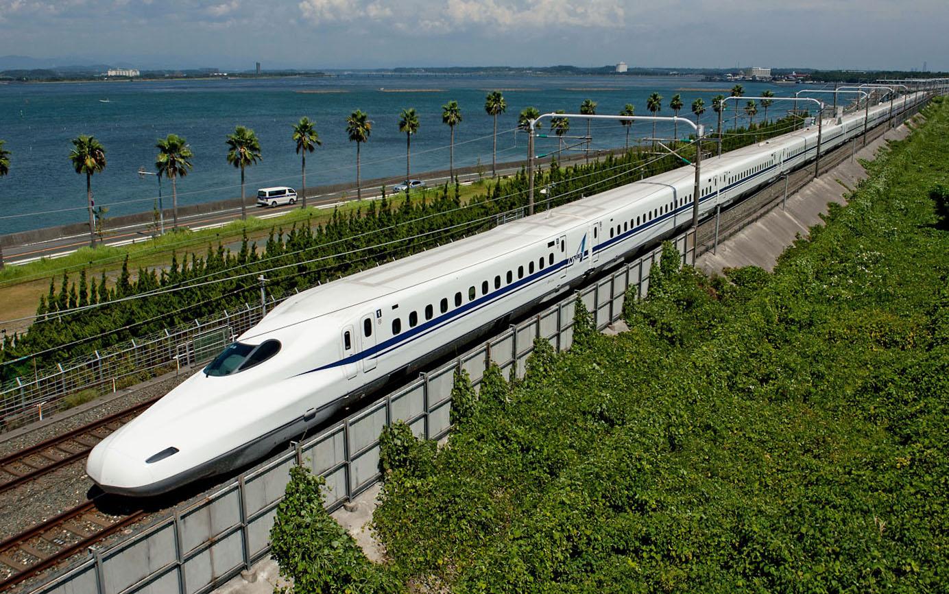 Los 10 viajes mas espectaculares_10 Tokaido Shinkansen, Japon