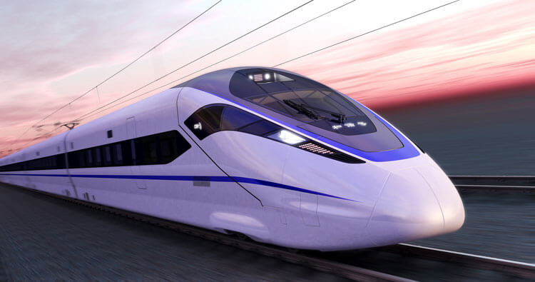 Tren AV Bombardier para China