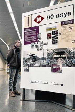 90 años del metro de Barcelona
