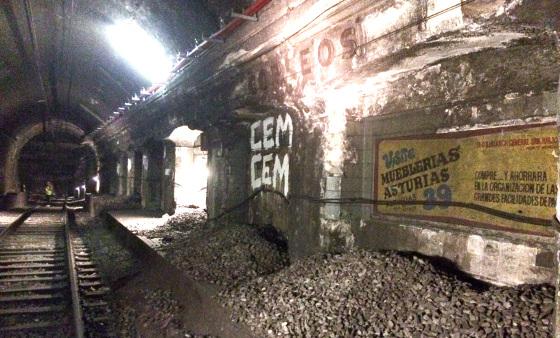 Estación abandonada metro Barcelona - Correos