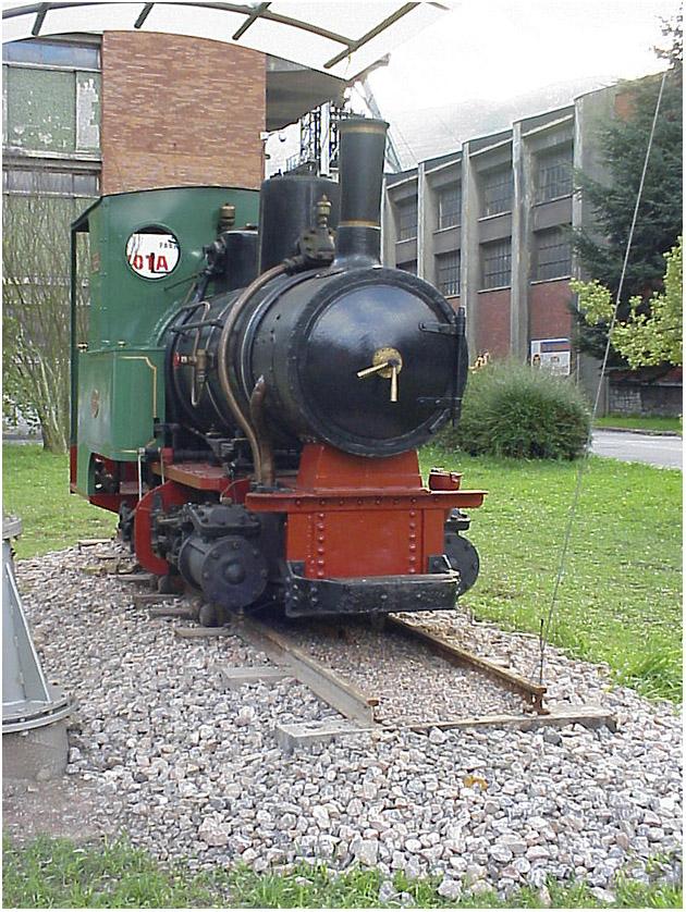 Locomotora nº 4 Minas Figaredo