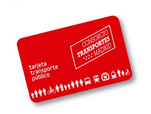Nueva tarjete de metro de Madrid