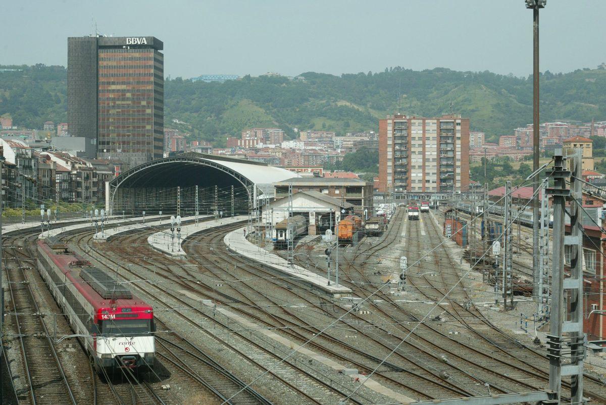 Bilbao Abando mantendrá su cubierta