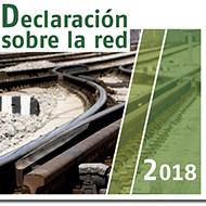 Declaración sobre la red 2018 (Adif) - portada
