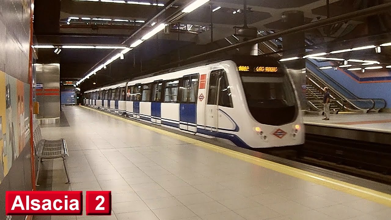 Estación Alsacia metro Madrid