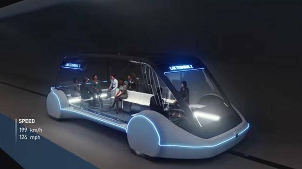 El tren ultrarrápido de Elon Musk se inaugurará en diciembre