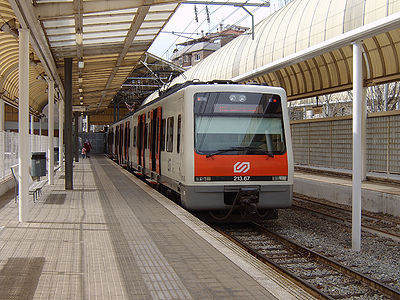 línea Martorell (Baix Llobregat) e Igualada (Anoia)
