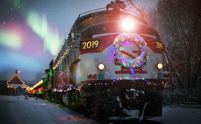 Tren Helsinki-Rovaniemi (Santa Claus)