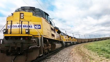 Knorr Bremse prueba un sistema de conducción automática en un tren de mercancías en Estados Unidos