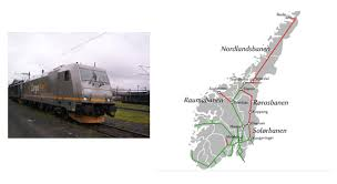 Noruega reemplazará la tracción diésel por trenes con baterías y electrificación de tramos