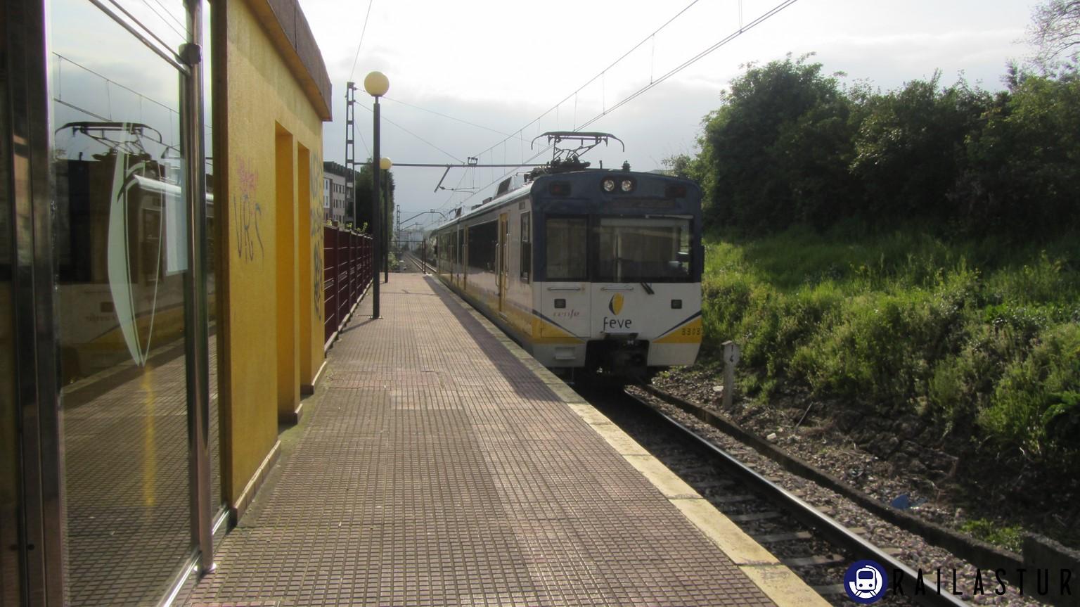 Cercanías Feve en La Argañosa (2013)